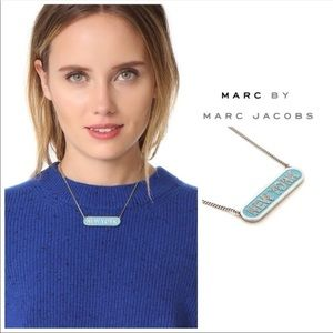 Marc Jacobs New York Necklace